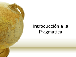 Diapositiva 1 - Introducción a la lingüística