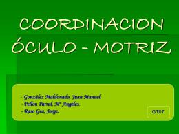 COORDINACION ÓCULO