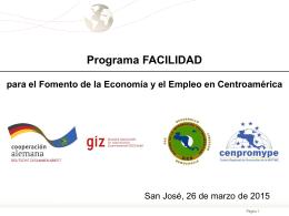 Facilidad para el Fomento de la Economía y el