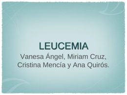 LEUCEMIA - MoleculaRuth`s Blog | Just another