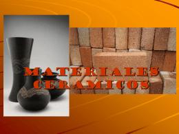 MATERIALES CERAMICOS - tecnologiaindustrialuno