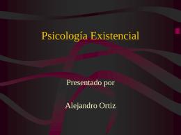 Psicologia Existencial