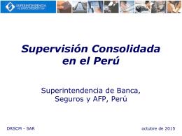 Supervisión Consolidada en el Perú