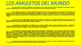 LOS AMULETOS DEL MUNDO