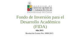 Fondo de Desarrollo Académico (FIDA)