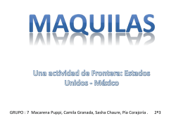 MAQUILAS