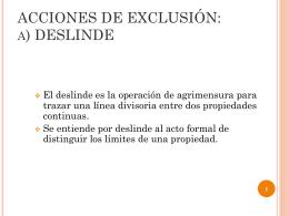 Acciones de exclusión Código Civil