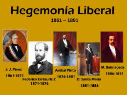 Hegemonía Liberal