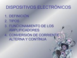 DISPOSITIVOS ELECTRÓNICOS - fime1j30252012i -