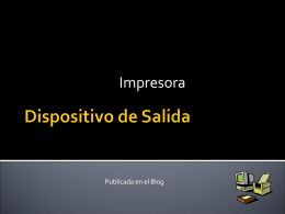 Dispositivo de Salida