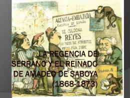 EL SEXENIO REVOLUCIONARIO (1868