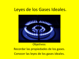 Modelos atómicos y Gases.