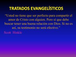 TRATADOS EVANGELÍSTICOS