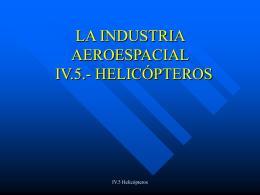 LA INDUSTRIA AEROESPACIAL. IV.5.