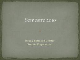 Semestre 2009