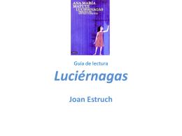 Guía de lectura Luciérnagas