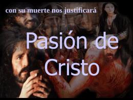 Pasión de Cristo - Jovenes con un Mismo Sentir