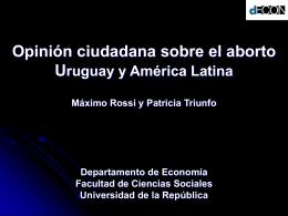 Aborto_diciembre_2010 - Uruguay: Investigación