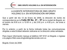 BANCO DEL ESTADO S.A. EN LIQUIDACIÓN INFORMA