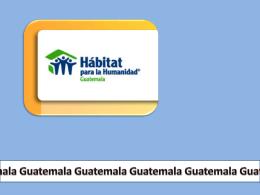 Guatemala - FSU Habitat