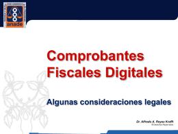 Comprobantes Fiscales Digitales 02/2011
