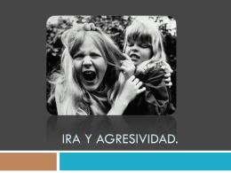 Ira y agresividad. - Psicología Liceo. | Trabajos