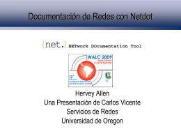 Documentación de Redes con Netdot