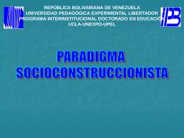 Diapositiva 1 - Experiencias Doctorales | VI