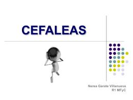 CEFALEAS - URGENCIAS BIDASOA