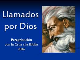 Llamados por Dios - Bienvenidos a la Parroquia La