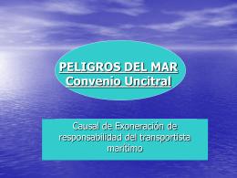 PELIGROS DEL MAR - Instituto Iberoamericano de
