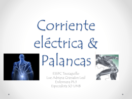 Corriente eléctrica & Palancas