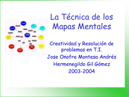 La Técnica de los Mapas Mentales