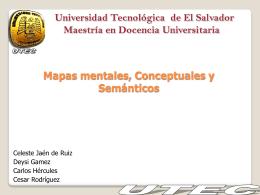 Mapas mentales, conceptuales y semánticos
