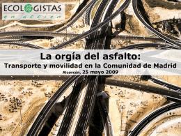 Infraestructuras y transporte en España