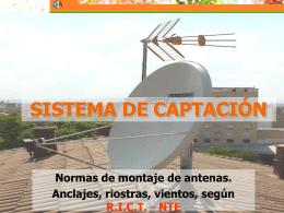 SISTEMA DE CAPTACIÓN