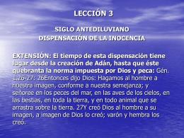 LECCIÓN 3 - MIREDFREDY