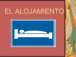 EL ALOJAMIENTO