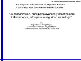 La bancarización, principales avances y desafíos