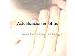 Actualización en otitis