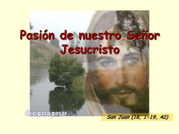 Evangelio Viernes Santo