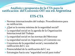 Propuestas desde los trabajadores argentinos para
