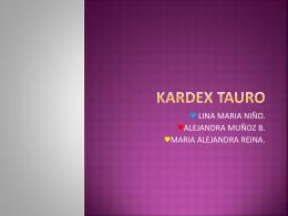 KARDEX TAURO - linamnc