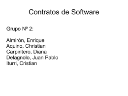 Contratos de Software