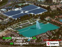 PLANTA POTABILIZADORA DE AGUA DE CASABLANCA