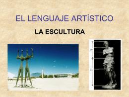 EL LENGUAJE ARTÍSTICO
