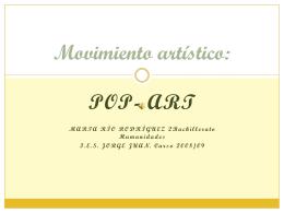 Movimiento artístico: - IES JORGE JUAN / San