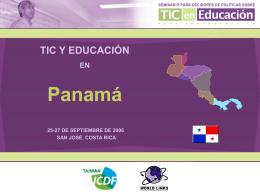 TIC y Educación en Panamá