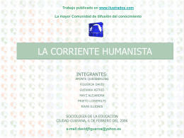 La Corriente Humanista