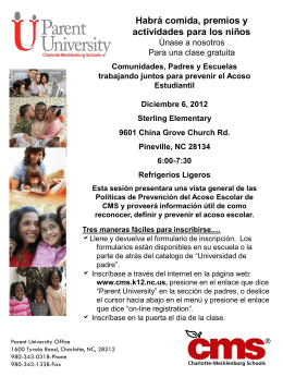 Parent University Dec. Spanish